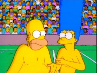 The simpsons naked celebrities images 63